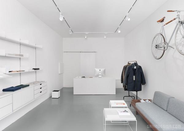 英国格拉斯哥 Instrmnt 钟表店设计 钟表店设计 英国 店面设计 商业空间设计 专卖店设计