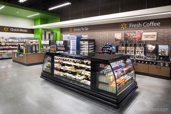沃尔玛 Walmart To Go 便利店设计 戈者设计