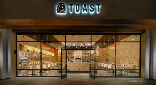 美国旧金山 Toast 餐厅设计 餐厅设计 美国 店面设计 商业空间设计
