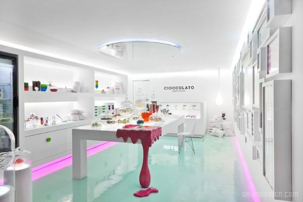 墨西哥 Cioccolato 甜品店设计 餐厅设计 甜品店设计 店面设计 墨西哥 商业空间设计
