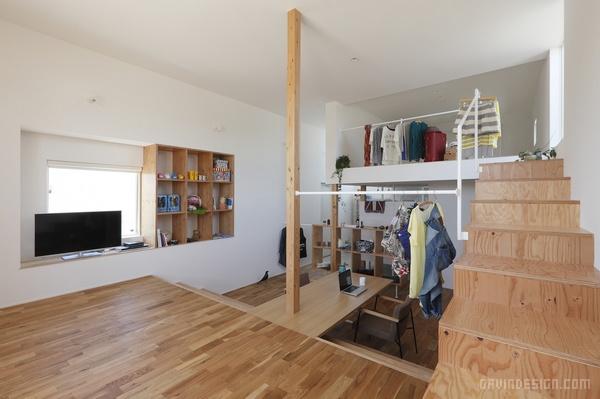 日本滋贺县商住两用空间设计 日本 商店设计 公寓设计