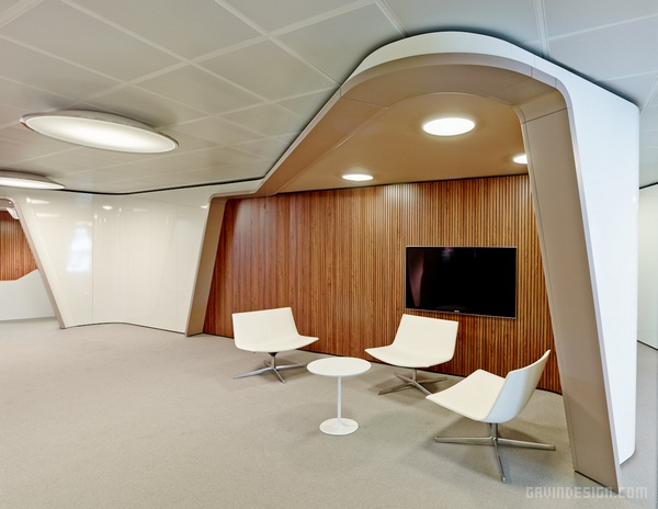 西班牙 Inaugure 总部办公室设计 西班牙 办公空间设计 办公室设计