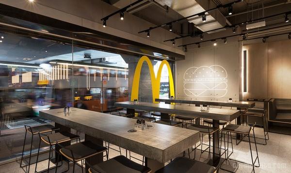 香港金钟海富中心麦当劳 Next 概念店设计 麦当劳 香港 餐厅设计 汉堡店设计 概念店设计 快餐店设计 店面设计 商业空间设计 中国