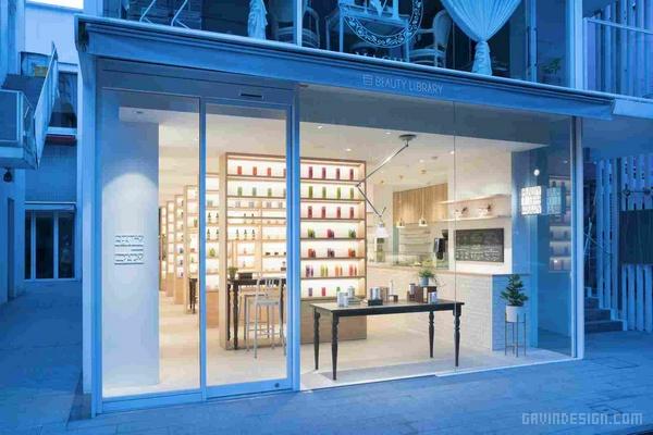 日本东京 BEAUTY LIBRARY 商店设计 超市设计 日本 店面设计 商业空间设计 化妆品店设计