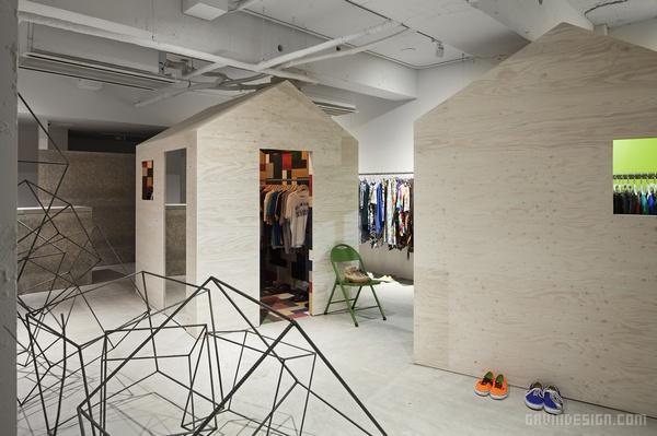 junk 服装店设计