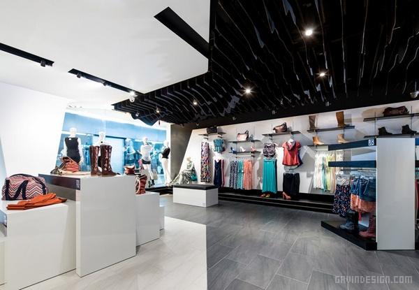 哥斯达黎加 QUIQUE 专卖店设计 店面设计 商业空间设计 专卖店设计