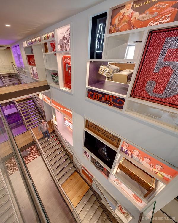 伦敦可口可乐总部办公室设计 办公室设计