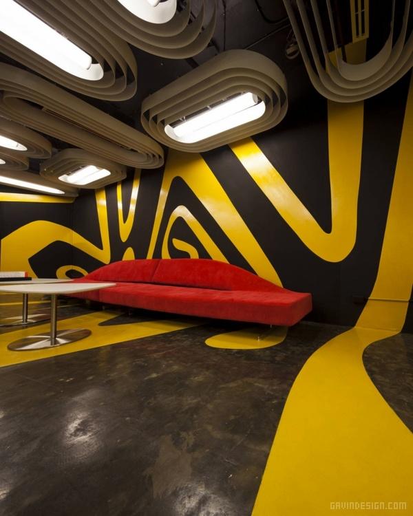 泰国曼谷 Saatchi & Saatchi 办公室设计 泰国 工作室设计 办公空间设计 办公室设计