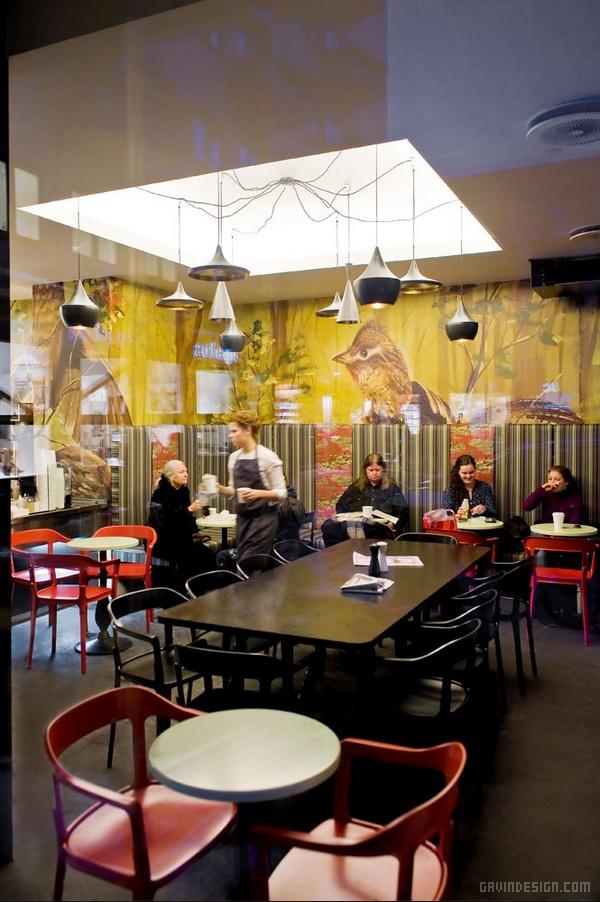 挪威奥斯陆 BIT 餐厅设计 餐厅设计 店面设计 商业空间设计
