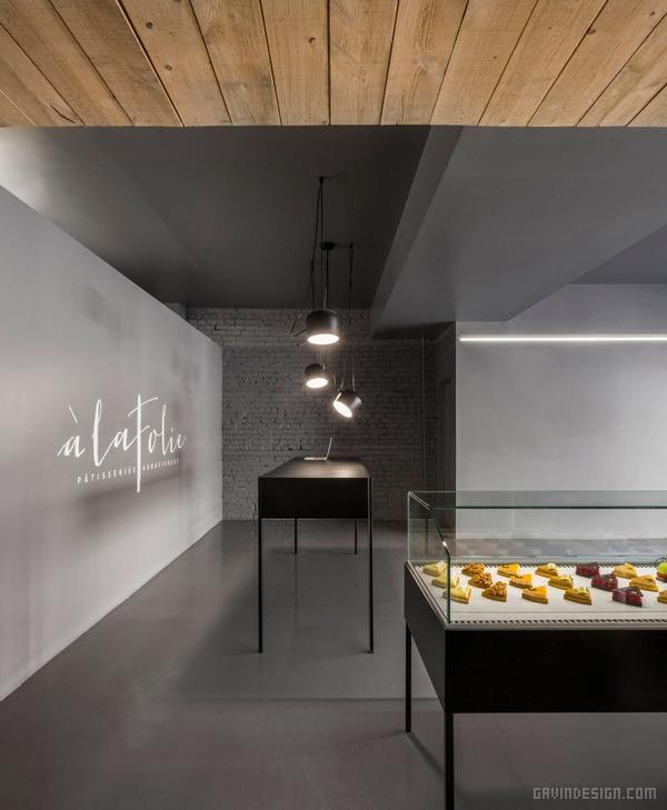 加拿大蒙特利尔 à La Folie 蛋糕店设计 蛋糕店设计 甜品店设计 店面设计 商业空间设计 加拿大