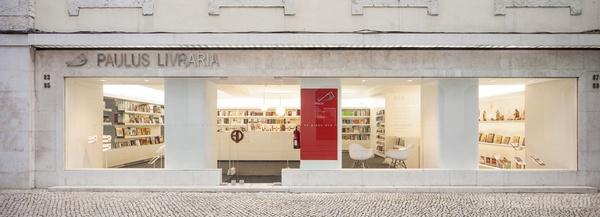 葡萄牙里斯本Paulus书店设计 店面设计 商业空间设计 书店设计
