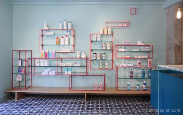 西班牙马德里 de los Austrias 药店设计 西班牙 药店设计 店面设计 商业空间设计 专卖店设计