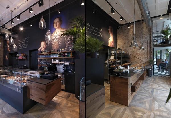 意大利米兰 Binario 11 面包店设计 面包店设计 意大利 店面设计 商业空间设计 专卖店设计