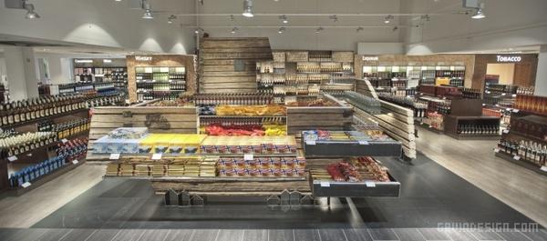 挪威 TRD Heinemann 零售店面设计 超市设计 店面设计 商业空间设计 专卖店设计