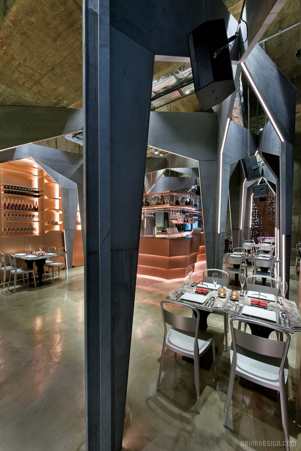 香港 Castello 4 餐厅酒吧设计 酒吧设计