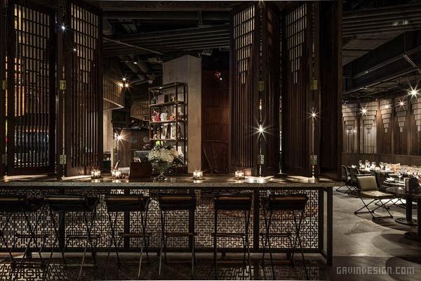 香港中环 Mott32 餐厅设计 香港 餐厅设计 店面设计 商业空间设计 住宅设计