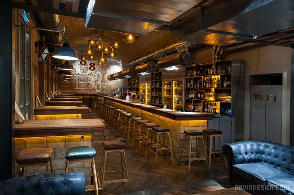 匈牙利布达佩斯 DOB3 酒吧设计 餐厅设计 酒吧设计 菜单设计 标志设计 图标设计 商业空间设计
