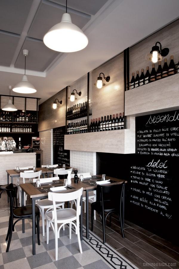 意大利罗马 La Cucineria 餐厅设计 餐厅设计 意大利 店面设计 商业空间设计