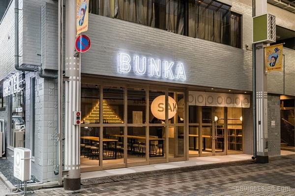 日本浅草 BUNKA Hostel 青年旅舍设计 青年旅舍设计 日本 东京