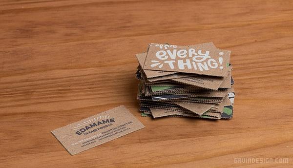 Edamame 食品VI设计 名片设计 包装设计 VI设计