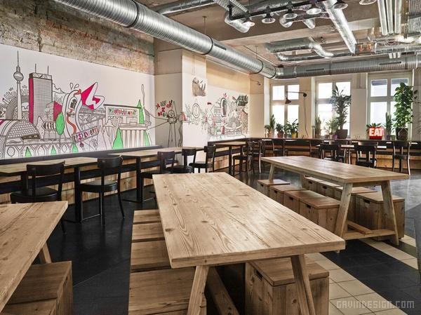德国柏林 Generator Berlin Mitte 酒店设计 餐厅设计 酒店设计 酒吧设计 商业空间设计