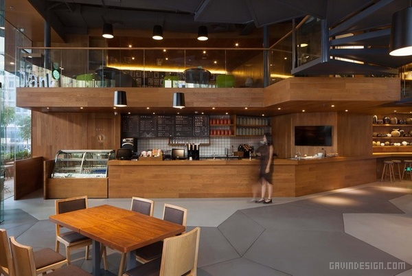 深圳 Teabank 时尚茶社设计 茶社设计 深圳 图书馆设计 书店设计 中国
