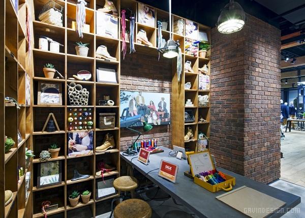 英国 Timberland 旗舰店设计 英国 旗舰店设计 店面设计 商业空间设计 专卖店设计