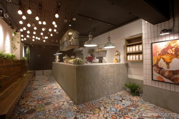 日本冲绳 Ball Donut Park 甜品店设计 蛋糕店设计 甜品店设计 日本 店面设计 商业空间设计 专卖店设计