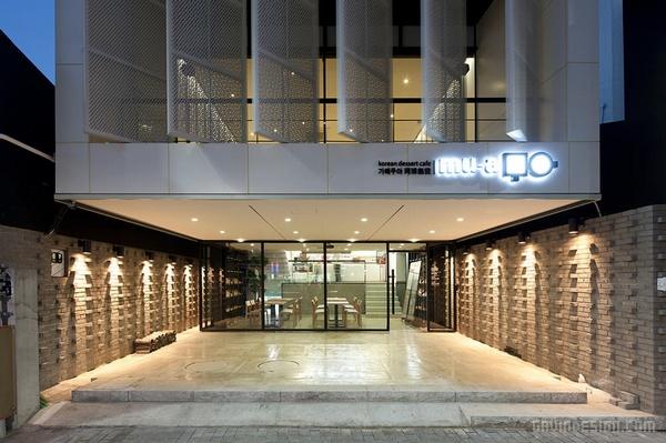 韩国大邱 mu a 咖啡甜品店设计 韩国 蛋糕店设计 甜品店设计 店面设计 商业空间设计 专卖店设计