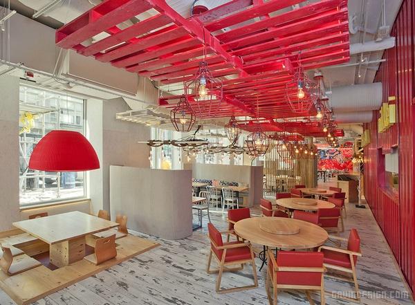 美国华盛顿 China Chilcano 餐厅设计 餐厅设计 美国 日本 店面设计 商业空间设计 中国