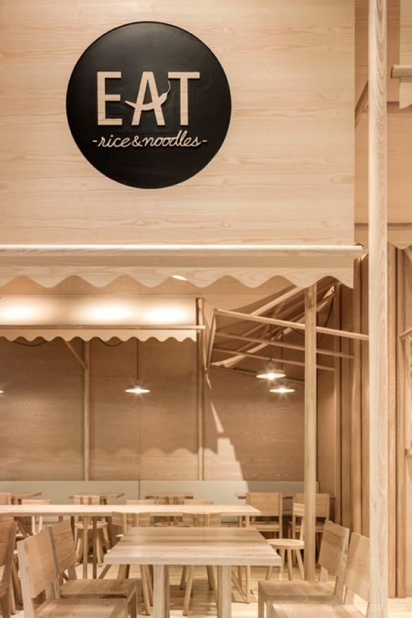 66平米泰国曼谷餐厅装修设计
