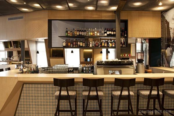 以色列特拉维夫 Theodor 餐厅设计 餐厅设计 店面设计 商业空间设计