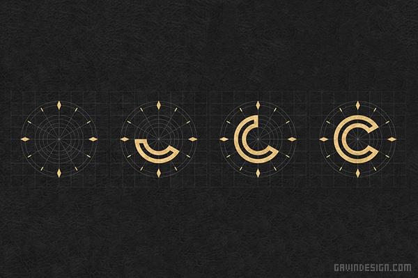 加拿大魁北克 CENDRILLON 茶点餐厅VI设计 菜单设计 标志设计 品牌形象设计 名片设计 加拿大 VI设计