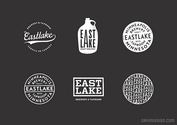 Eastlake 手工啤酒企业VI设计 标志设计 包装设计 VI设计