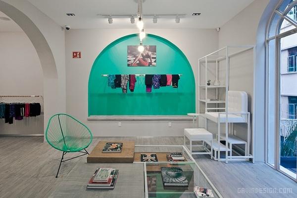墨西哥 NIKE women 店面设计 店面设计 墨西哥 商业空间设计 专卖店设计
