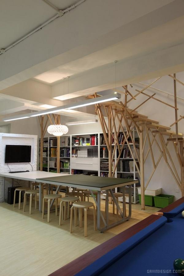 EMC(国际)办公空间设计 办公空间设计 办公室设计