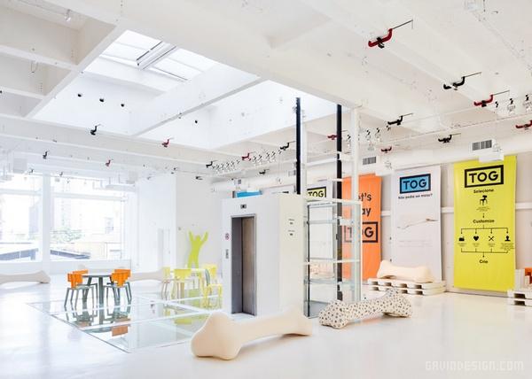 巴西圣保罗 TOG 定制家具旗舰店设计 旗舰店设计 店面设计 工作室设计 商业空间设计 专卖店设计