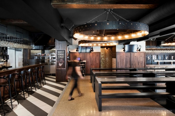 加拿大蒙特利尔 Das Bier 餐厅酒吧设计 酒吧设计 店面设计 商业空间设计 加拿大