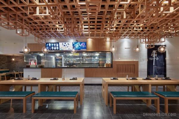上海大聪家老北京杂酱面馆设计 餐厅设计 面馆设计 店面设计 商业空间设计 中国 上海