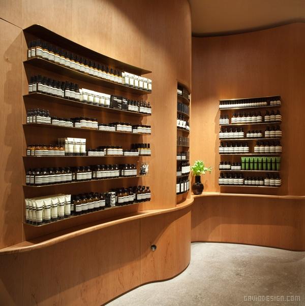 斯德哥尔摩 Aesop 商店设计 香水店设计 店面设计 商业空间设计 化妆品店设计