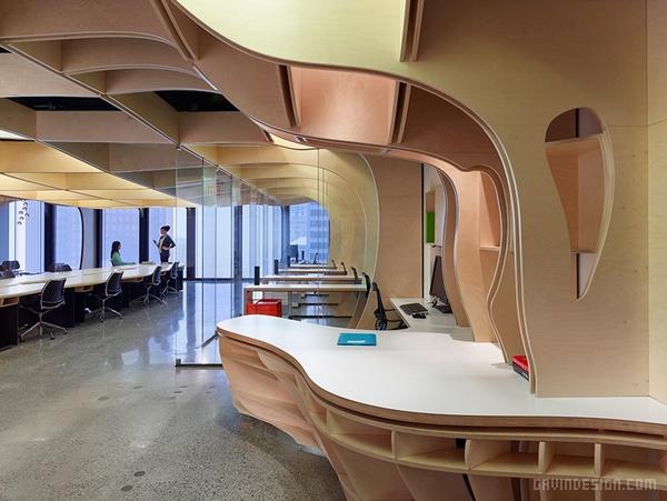 加拿大多伦多华夫板办公室设计 办公空间设计 办公室设计