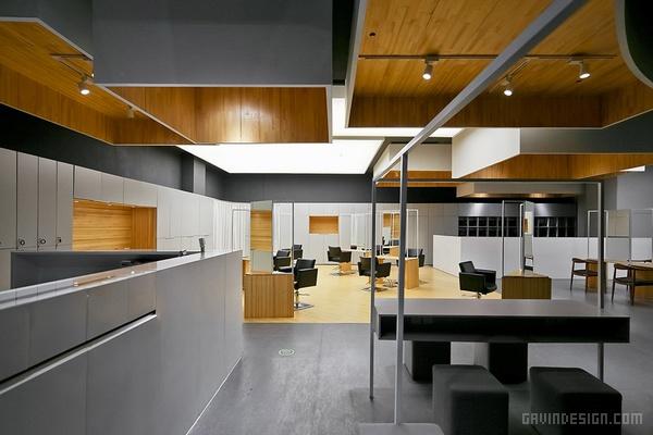 杭州非非想美发沙龙设计 美发沙龙设计 理发店设计 店面设计 工作室设计 商业空间设计 中国
