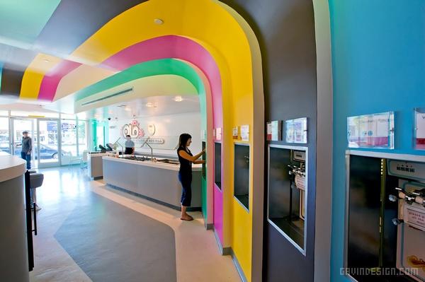美国新墨西哥州 Olo 酸奶店设计 饮品店设计 美国 店面设计 商业空间设计