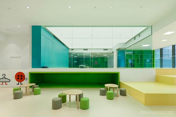 青岛家盒子儿童中心设计 早教中心设计 儿童游泳馆设计 儿童中心设计