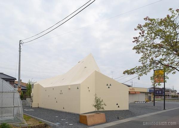日本群马县 L'Angolino 餐厅设计 餐厅设计 日本 店面设计 商业空间设计