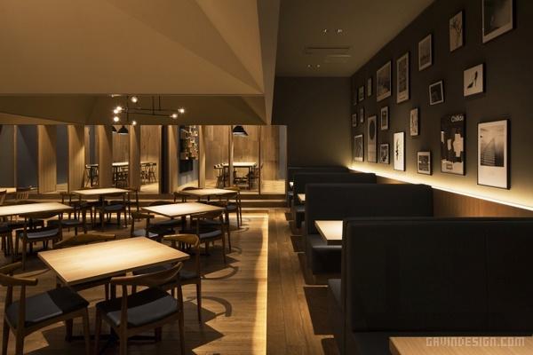 日本东京 Passo Novita 餐厅设计 餐厅设计 日本 意大利 店面设计 商业空间设计 东京