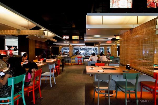 泰国曼谷 Coca Grill 餐厅设计 餐厅设计 店面设计 商业空间设计