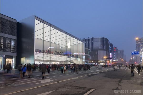 杭州苹果旗舰店设计 旗舰店设计 店面设计 商业空间设计 中国 专卖店设计