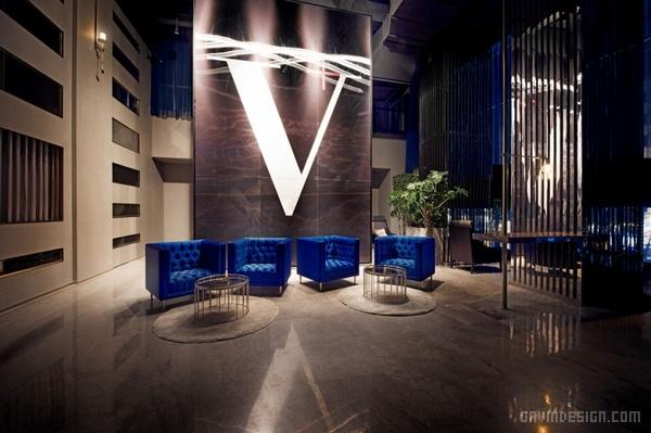 杭州西湖 V+Lounge 酒吧设计 店面设计 商业空间设计 中国 专卖店设计