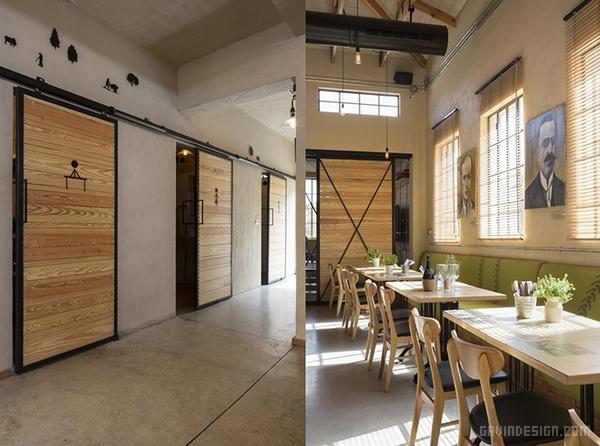 以色列 Kofinas 文献馆餐厅设计 餐厅设计 博物馆设计 书店设计